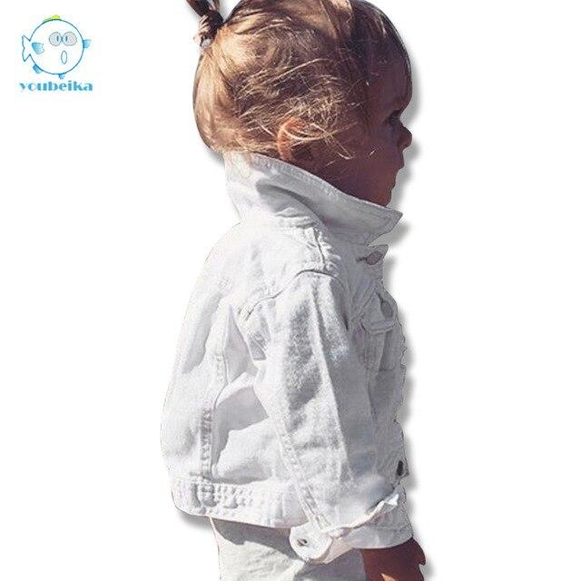 11225e190 Girls Denim Jacket For Girls Kids Coat Infant Baby Boys Fall Jackets ...