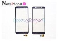 Novaphopat 5.3 cal czarny ekran dotykowy dla Alcatel 1C 5009D 5009 ekran dotykowy Digitizer szklany panel czujnika touchpad + śledzenie w Panele dotykowe do telefonów komórkowych od Telefony komórkowe i telekomunikacja na