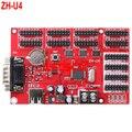 ZH-U4 USB & RS232 порт СВЕТОДИОДНЫЙ контроллер карты 4 * HUB08 + 8 * HUB12 3200*32 Одноместный & двухцветный СВЕТОДИОД контроллера карты