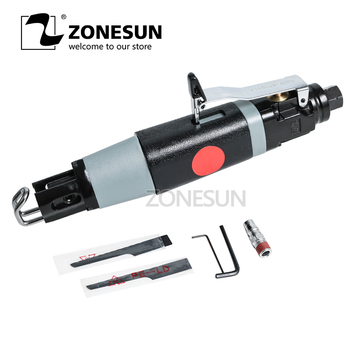 ZONESUN Power Tool Pneumatic Accessories Reciprocating Saw Metal Cutting Wood Tool Attachment Swing Metal File With 3 Blades
