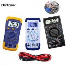 A830L DT-830B LCD Digital Voltmeter Ohmmeter Ammeter  Multimeter DC AC Volt Diode Freguency Multitester Tester Test Current