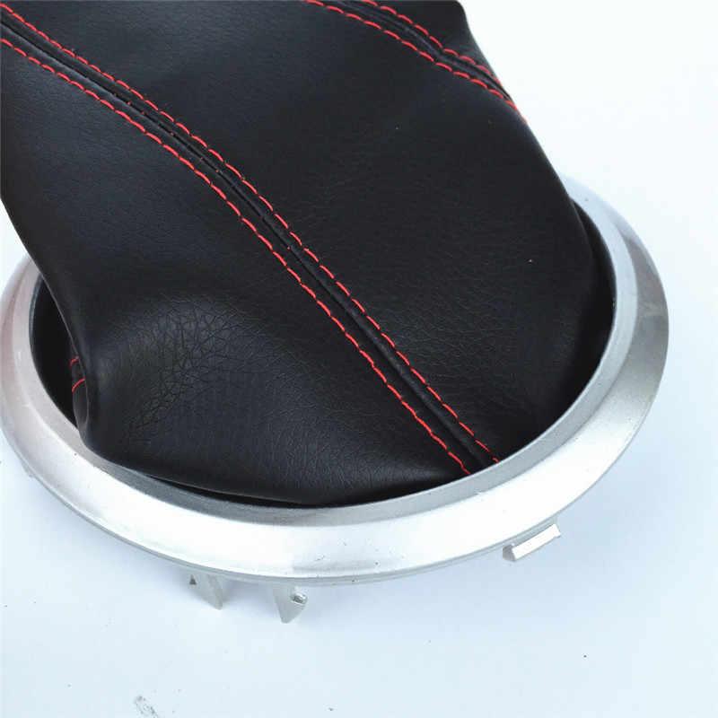 Manual de Engrenagem Alavanca de mudança Knob Vara Colar MK2 Gaiter Boot Capa Para Suzuki Swift 2005-2010 Car Styling Acessórios couro PU
