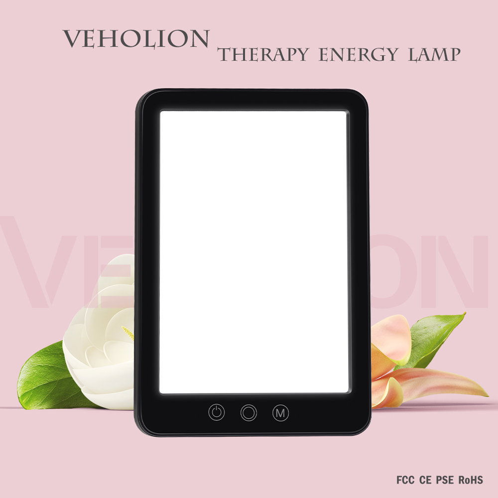 SAD Therapy Night Light 3 Modes Seasonal Affective Disorder Phototherapy Simulating Natural Daylight EU Plug SAD