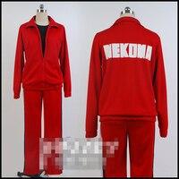 haikyuu! Kenma Kozume Sports uniform gym suit Kuroo Tetsurou cosplay costume