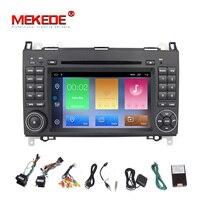 HD Android 9.1 Auto Radio Car DVD GPS Head unit for Mercedes Benz B200 B Class W169 W245 Viano Vito W639 Sprinter W906 Bluetooth