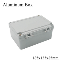 FA14 220x155x95mm Waterproof Aluminum Enclosure Junction Distribution Box Electronic Terminal Project Case Outdoor Connection