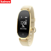 Фитнес Tracker браслет Heart Rate Мониторы Smart Band S3 SmartBand GPS шагомер браслет моды для женщин