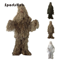 SPORTSHUB Military Camouflage Ghillie Suits Hunting Clothing Camouflage Shade Cloth TACTICAL GHILLIE Suit Hunting Cloth SAA0022