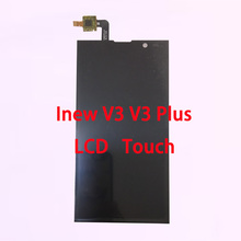 RYKKZ Used For Inew V3 V3 Plus Touch Screen With Lcd Display Digitizer Assembly Replacement With Tools Free Shipping цена