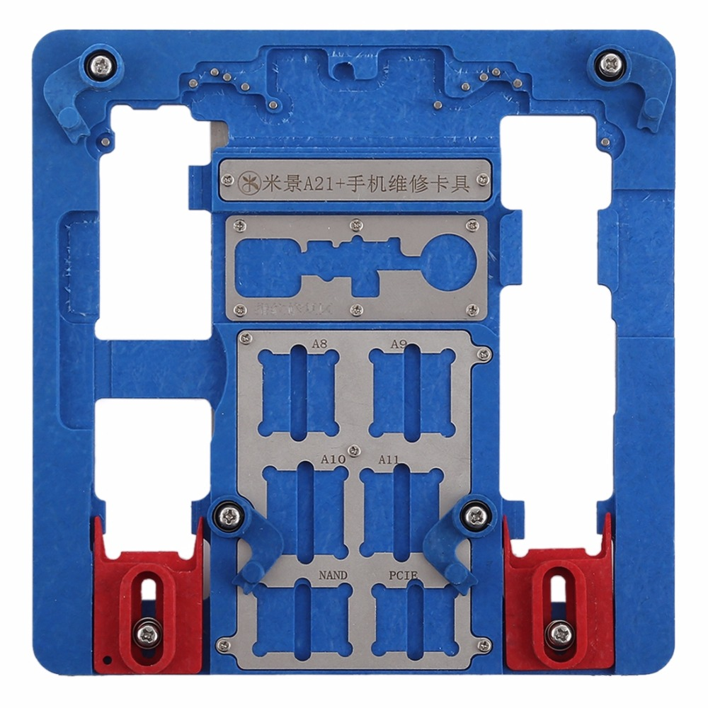 Mijing A21 電話マザーボードの修理固定ホルダー iphone 8 プラス/8/7 プラス/7/6s プラス/6s/6 プラス/6/5s