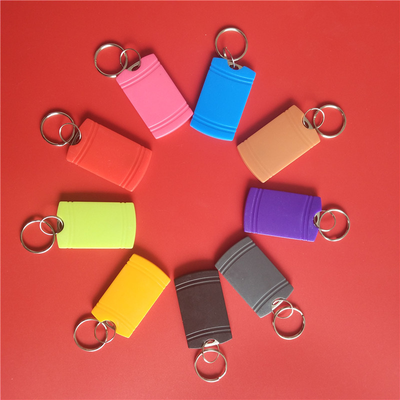 Access Control 13.56mhz UID Changeable NFC Tag Keyfob Token Waterproof ABS 13.56MHZ RFID Writable Key Tag
