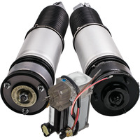 1Pair Rear Left Right Complete Air Suspension Kit For BMW 7 Series E65 E66 745i 745Li 37126785538 37126758574 37126758573