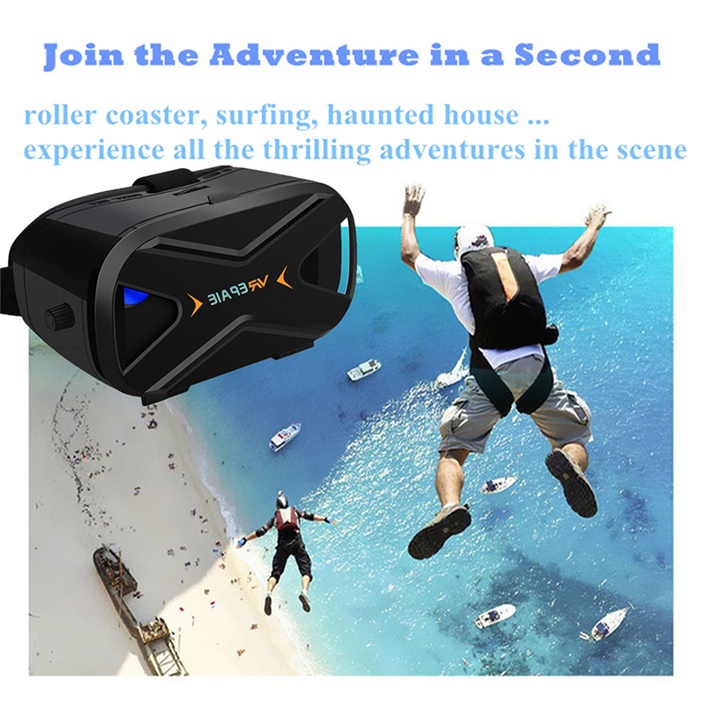 Great Lens VR Glasses Virtual Reality for LG Samsung Huawei Visore 3D Movies Video Games VR Goggles with Console Virtual Travel oculus rift headset