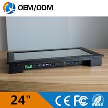 24 inch tablet industrial touch screen Resolution 1920×1080 panel all-in-one pc 3217U 1.9GHz Installation desktop/embedded
