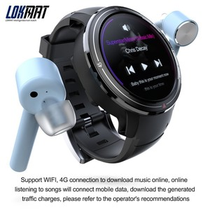 """Image 4 - LOKMAT Bluetooth Smart Watch Men 1.39"""" AMOLED Screen 400*400px 3GB+32GB Android 7.1 Heart Rate Monitor GPS 4G Smartwatch For Ios"""
