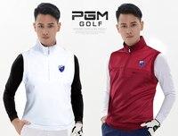 Top quality!PGM golf suit sports vest Men's Four Seasons coat windproof Vest Golf Sports Waistcoat,Free shipping