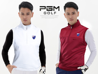 Top quality!PGM golf suit sports vest Men's Four Seasons coat windproof Vest Golf Sports Waistcoat,Free shipping