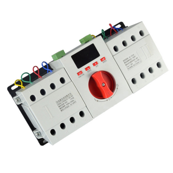 Intelligent LED display Dual Power Automatic Transfer Switch ATS 16-63A 4P dual power automatic change-over switch CJQ1Z-63M/4P