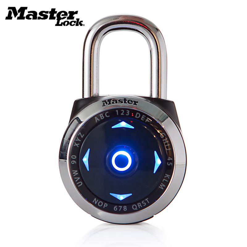 MASTER LOCK Electronic LED Direction Password Lock Gym Safety Anti theft Padlock Set Your Own Combination Digital Lock in Locks from Home Improvement