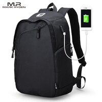 Mark Ryden Multifunction USB Charging Men 14inch Laptop Backpacks For Teenager Fashion Male Mochila Leisure Travel