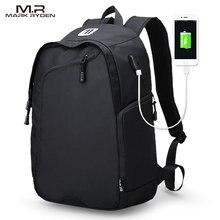 c921102d845e33 Mark Ryden USB wielofunkcyjne ładowania mężczyźni 14 cal laptopa plecaki  dla nastolatków mody męskiej Mochila podróży plecak wol.