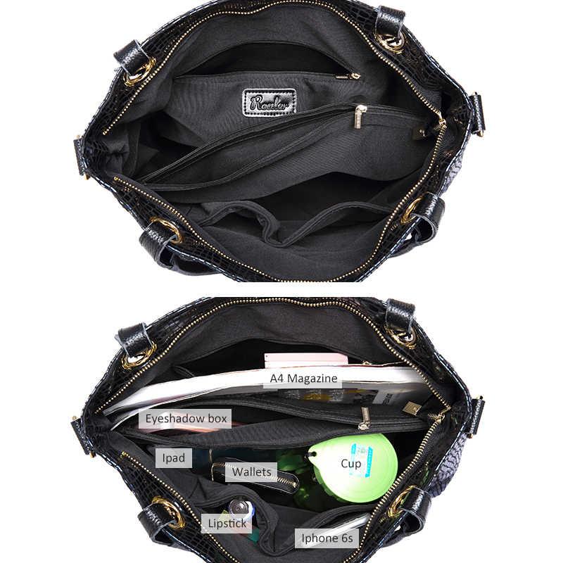 REALER сумки для женская мода молния кожаные сумки женский сумка изображениями животных искусственная кожа сумка