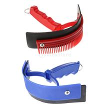 Plastic Equestrian Sweat Scraper Horse Care Grooming Tools with Random Color