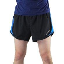 Men s 2 em 1 Shorts de Corrida Maratona Tênis De Futebol Do Treinamento  Workout GYM Quick df65f79841cd1