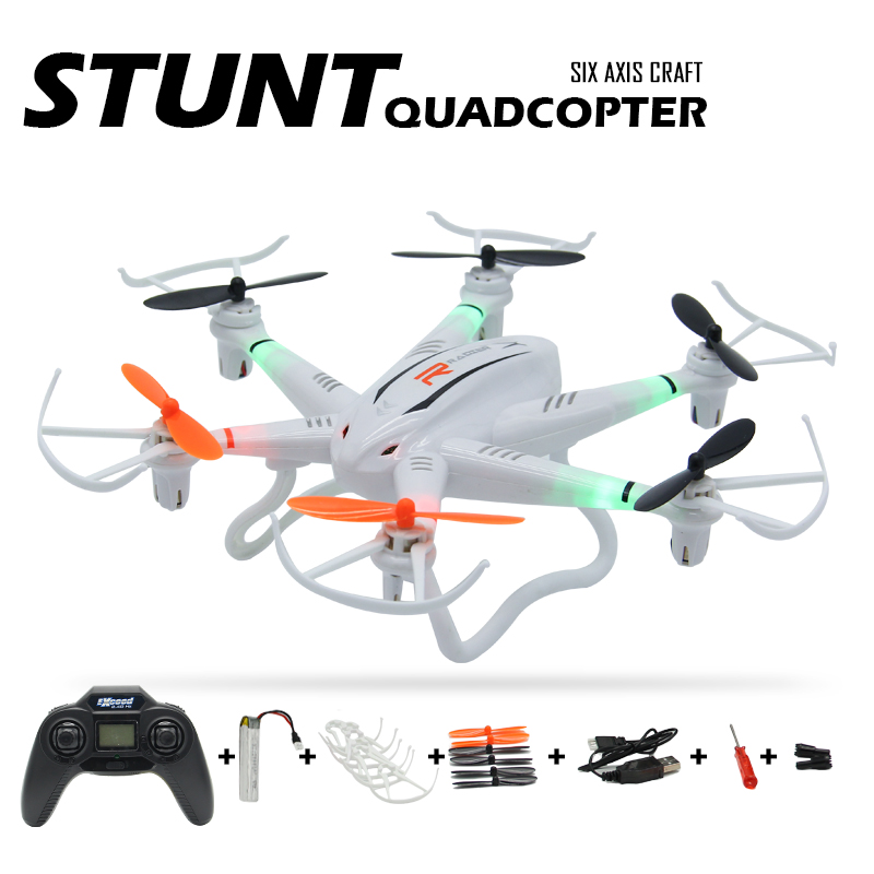 ФОТО 2.4G Super Stunt RC Drone 4.5CH 6 Axis Gyro Quadcopter Drones 6 Motors Remote Control Helicopter Headless Mode Drones With Light