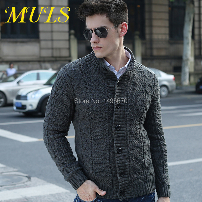 2015 men cardigan Fashion sweater Flat knitted Full V Neck Factory ...