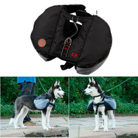 Outdoor Pet Dog BackPack Harness Quick Release Carriers Dog Pack Hound Travel Camping Hiking Bag Rucksack