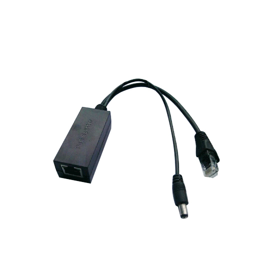 Ieee 802.3af Active 10/100 Mbps RJ45 POE Splitter/Injecteur/Connecteur Power over Ethernet pour Caméra IP VoIP téléphone AP 12 V/1A Sortie