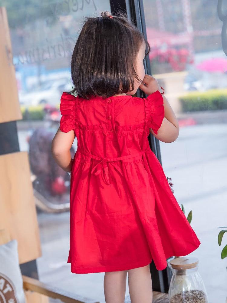 2019 ახალი წითელი ბავშვები - ბავშვთა ტანსაცმელი - ფოტო 4