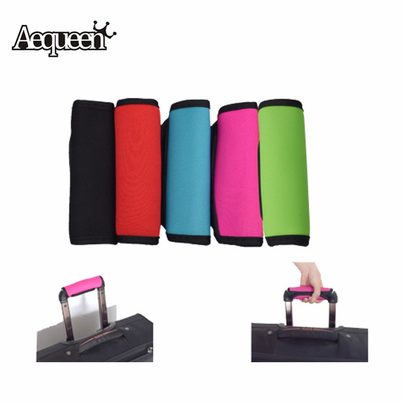 AEQUEEN Neoprene Suitcase Luggage Handle Cover Comfortable Trolley Suitcase Protective Handle Covers Travel Accessories Parts