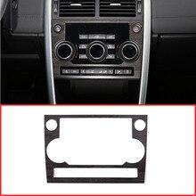 ABS древесины дуба Стиль кнопки Mode Frame Накладка для Land Rover Discovery Спорт 2015-2017 автомобиль-Стайлинг