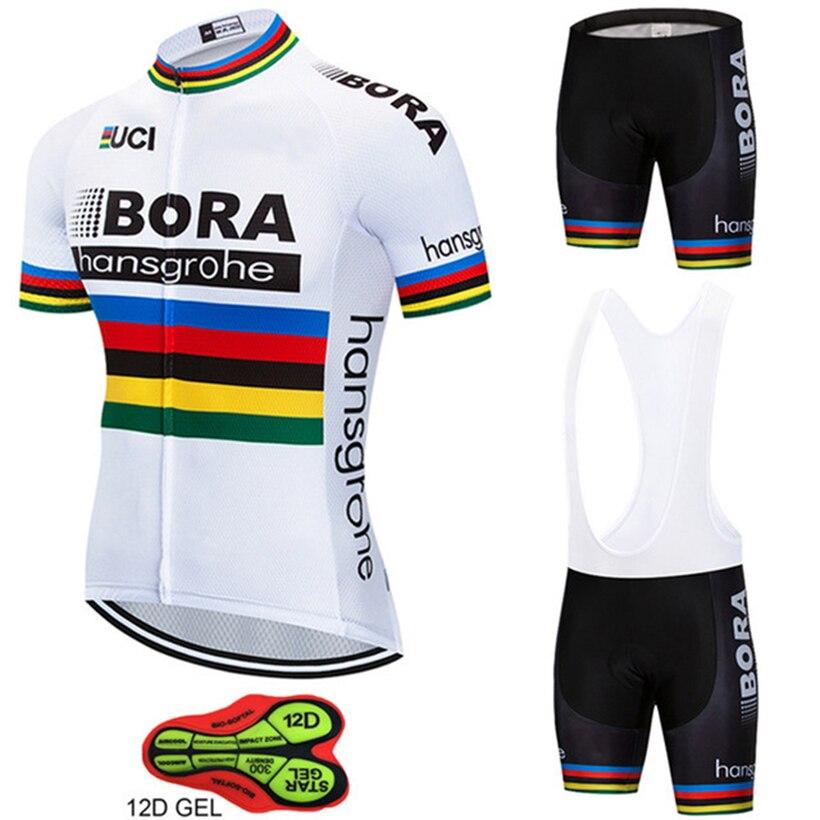 2018 Vélo Équipe BORA hangsgrohe Vélo Définit Maillot Ropa Ciclismo Vélo Jersey D'été Vélo Vêtements de Cyclisme En Plein Air Jersey Hommes