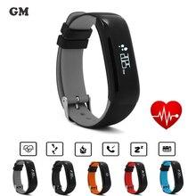 SmartBand Часы P1 Приборы для измерения артериального давления Bluetooth браслет сердечного ритма Мониторы смарт-браслет Фитнес для Android IOS Телефон