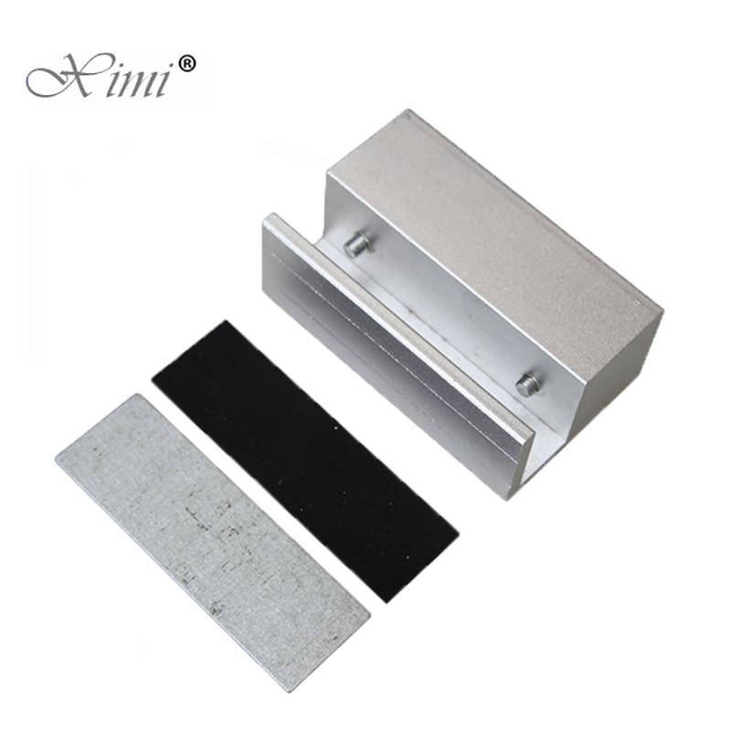 4pcs A Lot Electric Bolt Lock U Bracket Aluminium Alloy Bracket Mini Bracket For Frameless Glass Door Lock