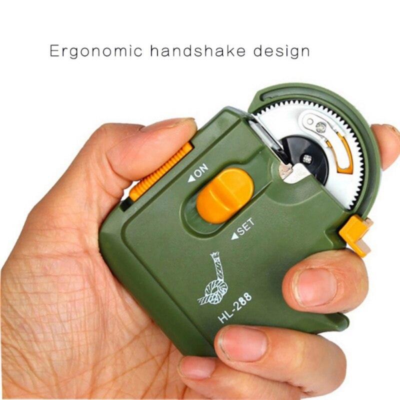 Электрический рыболовный крючок, полностью автоматические крючки, автоматическая портативная машина, рыболовные принадлежности, инструмент для быстрой завязывания лески|Рыболовные снасти|   | АлиЭкспресс