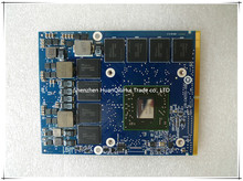 M6000 216-0835033 DDR5 2G Graphic Card For DELL M15X M6600 M6700 M6800 Video Card Display Card цена в Москве и Питере