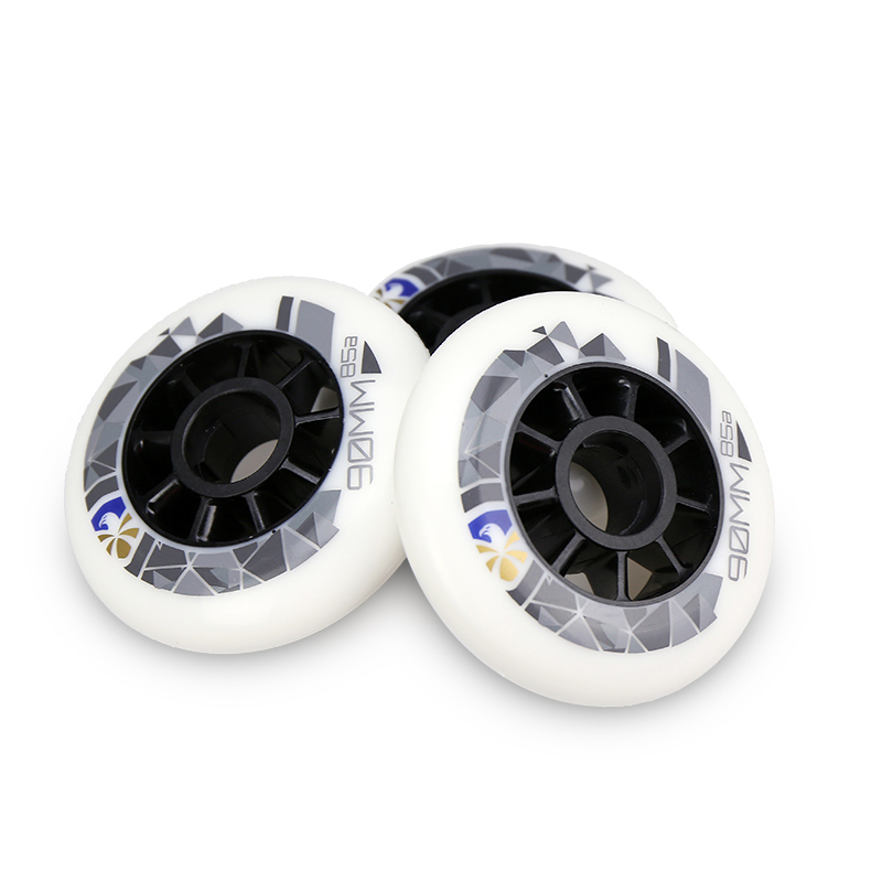 Flying Eagle Phantom Speed Skates Wheels 8 Pieces/lot High Response Wheels 90 100 110mm 85A Inline Speed Racing Skating Wheels