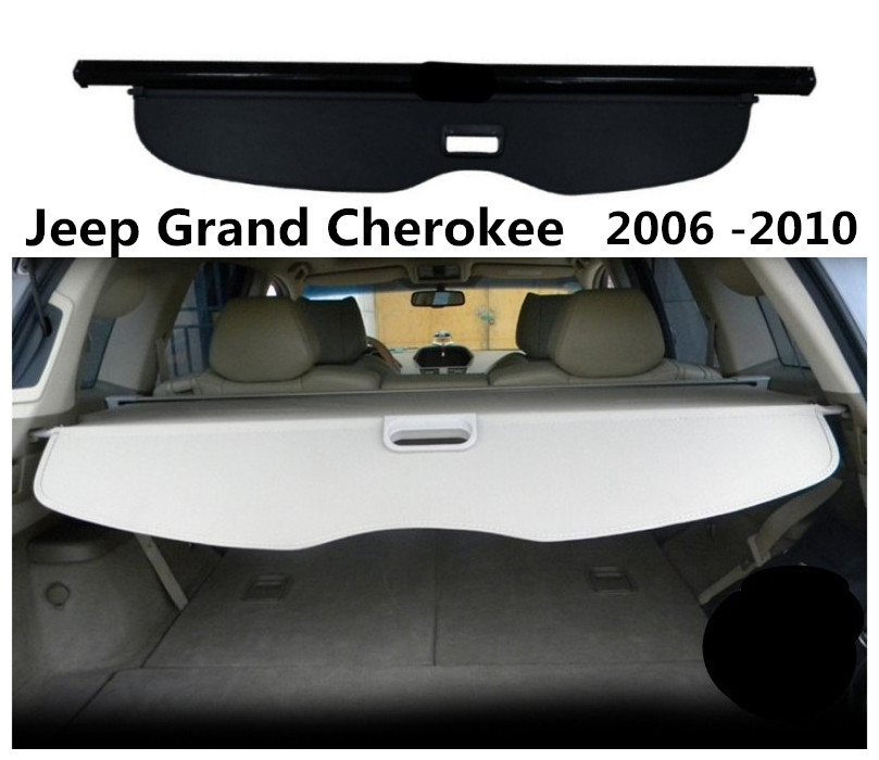 цена на For Jeep Grand Cherokee 2006 2007 2008 2009 2010 Rear Trunk Cargo Cover Security Shield Screen shade High Qualit Car Accessories