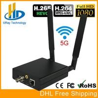 Урай HEVC H.265 HD 3g SDI кодирующее устройство IP видео Wi Fi SDI потоковый кодировщик Беспроводной SDI RTMP RTSP передатчик H265 H264