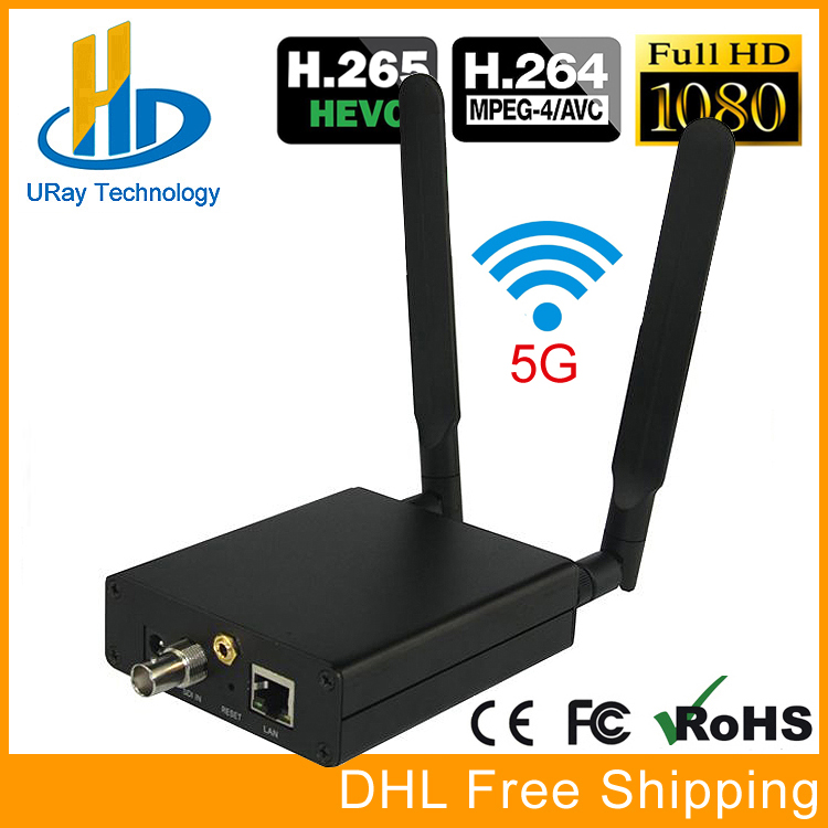 URay HEVC H.265 HD 3G SDI IP Video Encoder WiFi SDI Streaming Encoder Wireless SDI RTMP RTSP Transmitter H265 H264 uray 3g 4g lte hd 3g sdi to ip streaming encoder h 265 h 264 rtmp rtsp udp hls 1080p encoder h265 h264 support fdd tdd for live