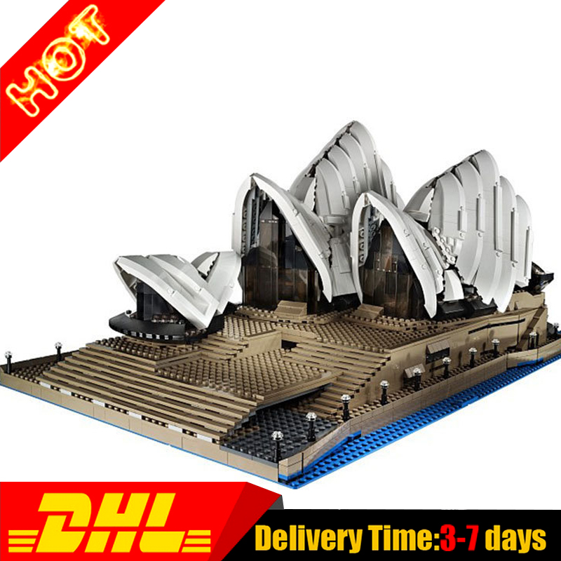 2017 New LEPIN 17003 2989Pcs City Sydney Opera House Model Building Kits Blocks Bricks Compatible Toys Gift 10234 new lepin 22001 pirate ship imperial warships model building kits block briks toys gift 1717pcs