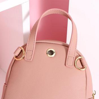 Pu Leather Female Backpacks 1