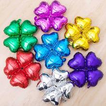 10pcs/pack Party Wedding Decoration Heart Shape Foil Helium Balloons Birthday Anniversary Supplies