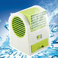 Hot Portable USB Mini Small Fan Cooling Desktop USB battery two way power Bladeless fan Air Conditioner