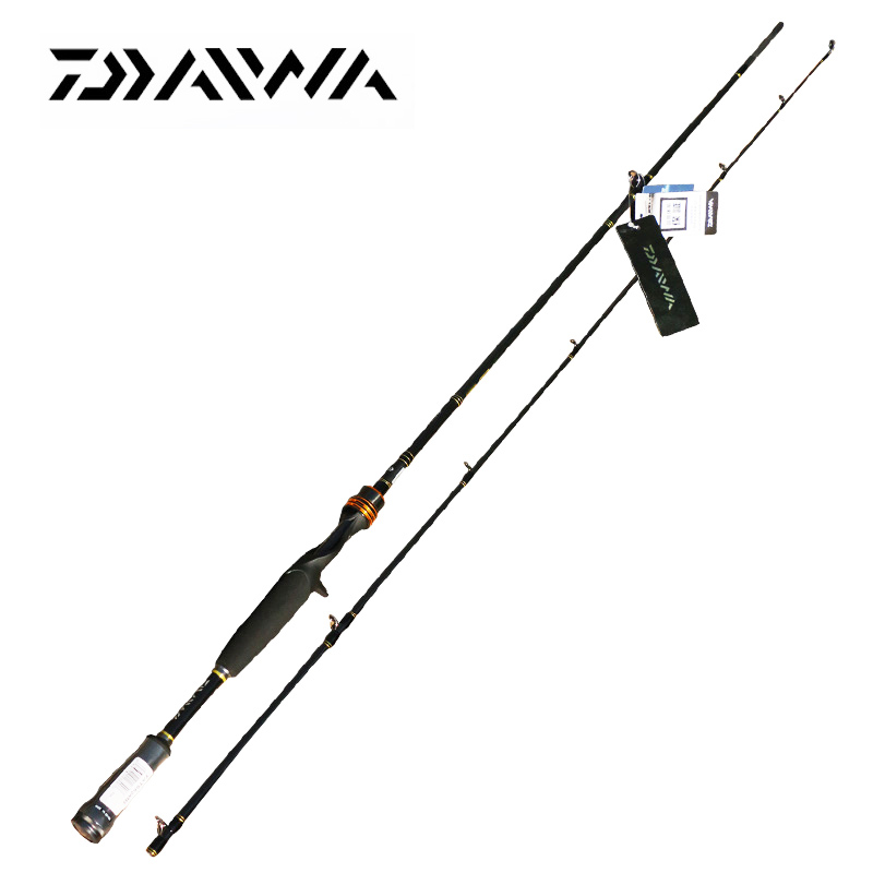 Daiwa TATULA 662M Spinning Bait Casting Fishing Rod Lure Carbon Rod 2 Section 1.98m Fishing Pole seaknight trulinoya 2 1m 145g two segments plug bait carbon casting hard spinning lure fishing rod