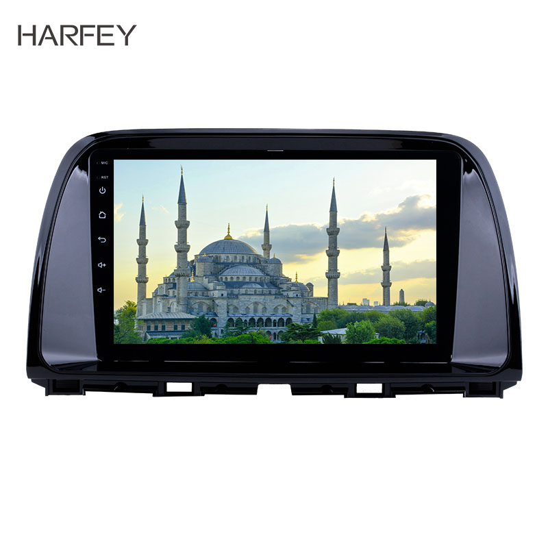 Harfey 9 inch for Mazda CX-5 2012-2015 Android 8.1 GPS Navigation System 1024x600 Touch Screen OBD2 AUX Radio WIFI Music USBHarfey 9 inch for Mazda CX-5 2012-2015 Android 8.1 GPS Navigation System 1024x600 Touch Screen OBD2 AUX Radio WIFI Music USB